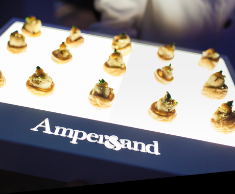 Restaurant bar design awards 2012 exhibition events for Canape trays